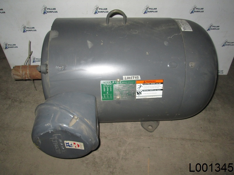 Lincoln 50 hp electric motor 326t for 50 hp dc motor