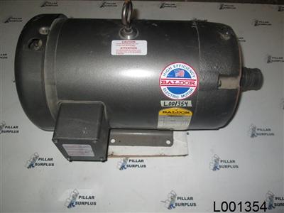 Baldor 10hp electric motor 213tc for Baldor electric motors for sale