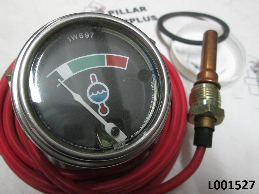 Cat Coolant Temperature Indicator Gauge 1w0697