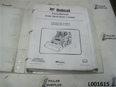 bobcat s185 skid steer loader parts manual. Black Bedroom Furniture Sets. Home Design Ideas