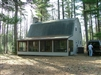 Cabin in the Woods. Located near Tustin, MI 49688.