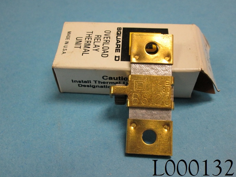 Square D Heater Thermal Overload Relay B8 20