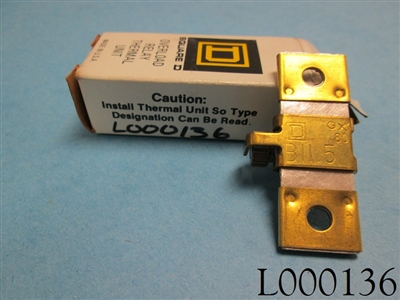 Square D Heater Thermal Overload Relay B11.5