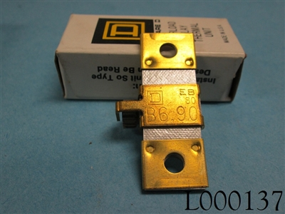 Square D Heater Thermal Overload Relay B6.90