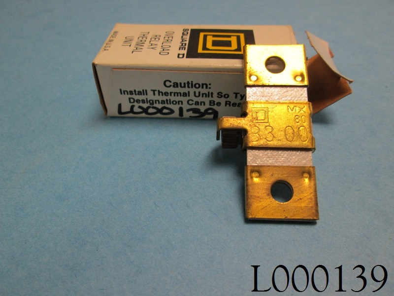 B3.00 Square-D Thermal Overload Heater