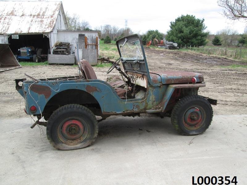 Willys Cj2a Jeep with Kubota Turbo Diesel swap - YouTube |Jeep Cj2a Engines