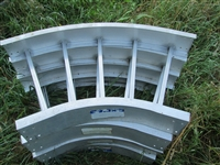"24"" wide cable tray 45 degree angle adapter"