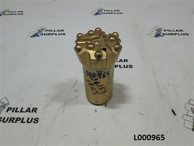 "Mitsubishi 2.5"" Drop Center Rock Drill Bit 32RTP64R45"