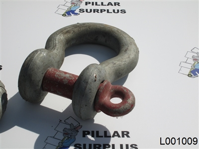 "Crosby 1-1/2"" Clevis and Shackle 17 ton"