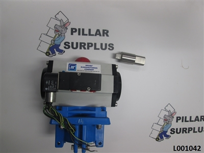 "Spears Solenoid Valve Actuator for a 6"" Ball Valve A-SV10"