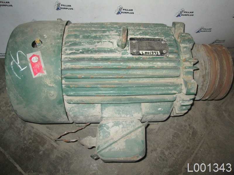 Toshiba Electric Motor Tkkh 25hp Larger Photo