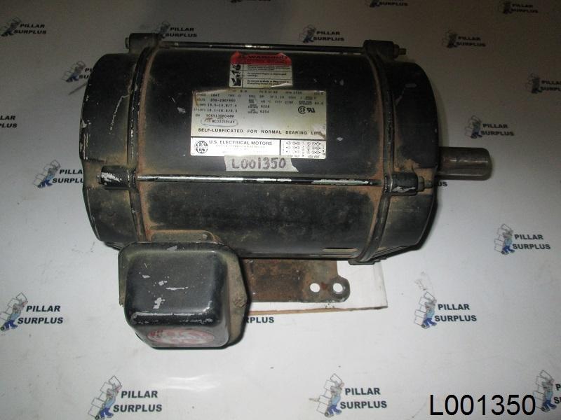 US Electrical Motors 5HP electric motor