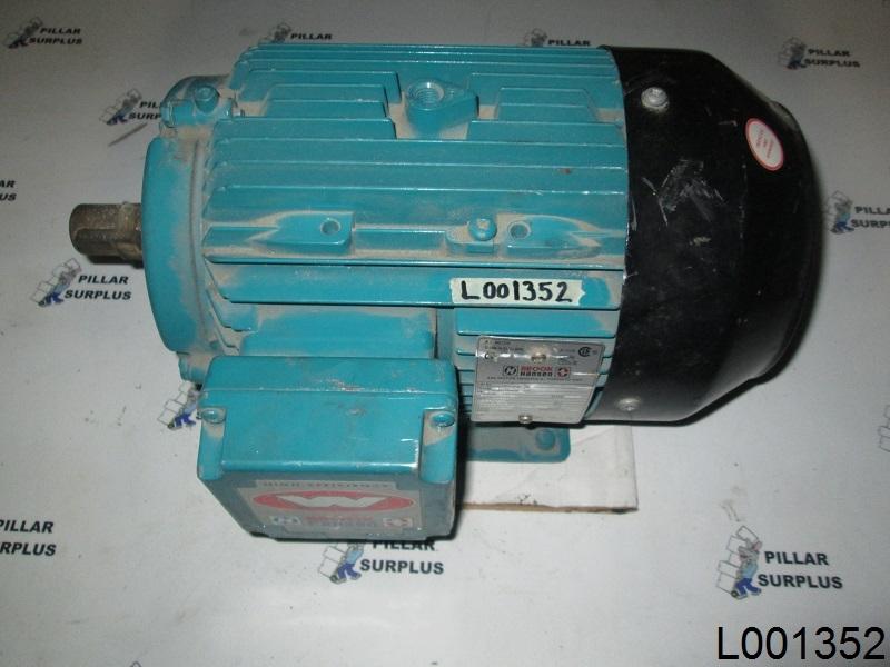 Brook Hansen 4hp Electric Motor Wd100lb Larger Photo