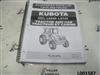 Kubota L5240-L5740 Tractor & Cab Illustrated Parts List 97898-23540