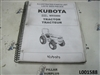 Kubota MX5000 Tractor Illustrated Parts List 97898-22591