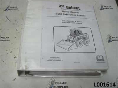 bobcat s650 skid steer loader parts manual. Black Bedroom Furniture Sets. Home Design Ideas