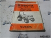 Kubota L3110, L3410 Tractor Illustrated Parts List 97898-22000