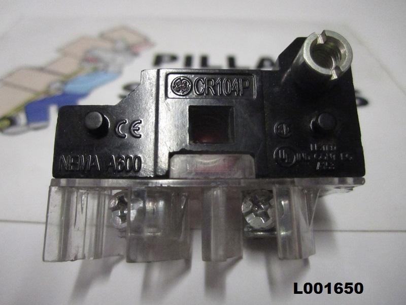 Ge Cr104p Nema A600 Contact Block Red