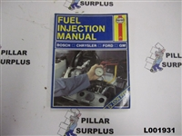 Haynes Repair Book Fuel Injection Manual 482