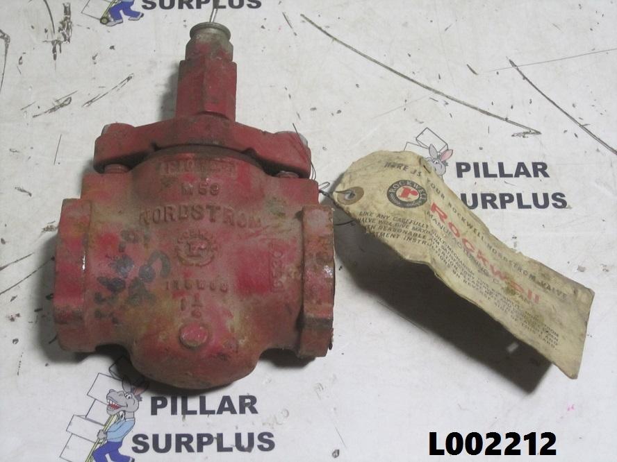 Rockwell Nordstrom 175wog 1 1 4 Quot Threaded Plug Valve Fig