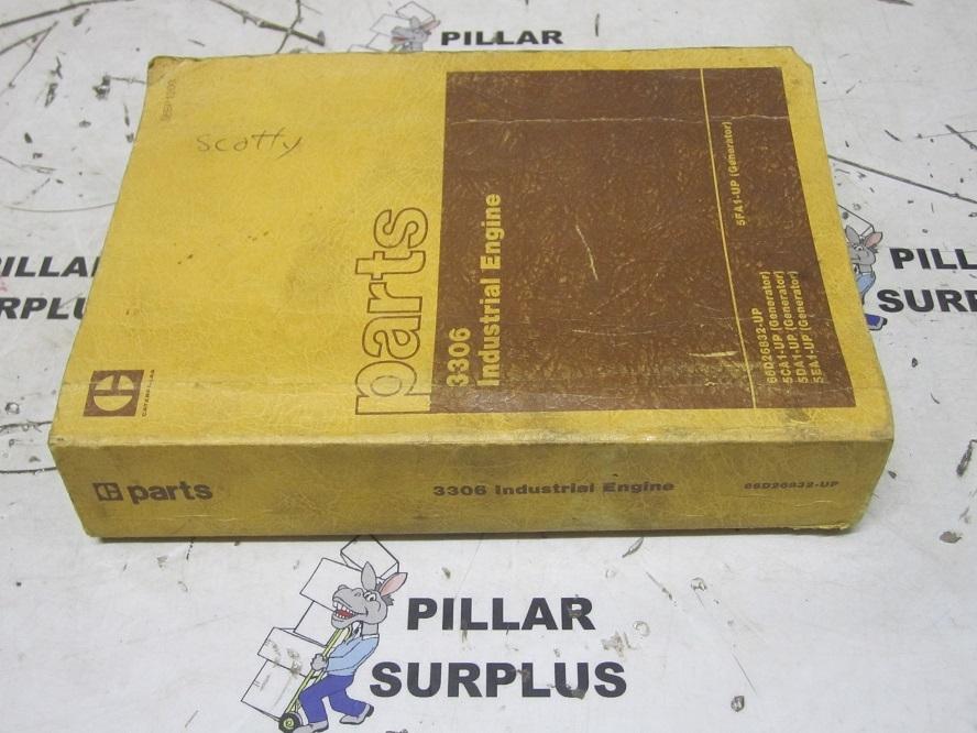 genuine oem caterpillar cat 3306 industrial engine parts manual sebp1200 rh pillarsurplus com cat parts manual online cat parts manual download