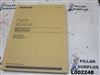 Genuine OEM Caterpillar CAT 966F Series II Wheel Loader Parts Manual SEBP2262