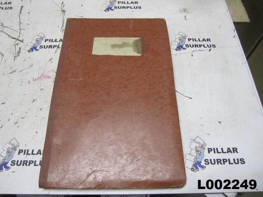 Pingon 14F & 14FB Hydraulic Excavator Spare Parts Catalog D-417