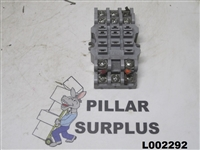 Potter & Brumfield 11 Pin Relay Socket 27E121