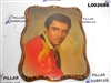 Elvis Decopage Photo on Wood