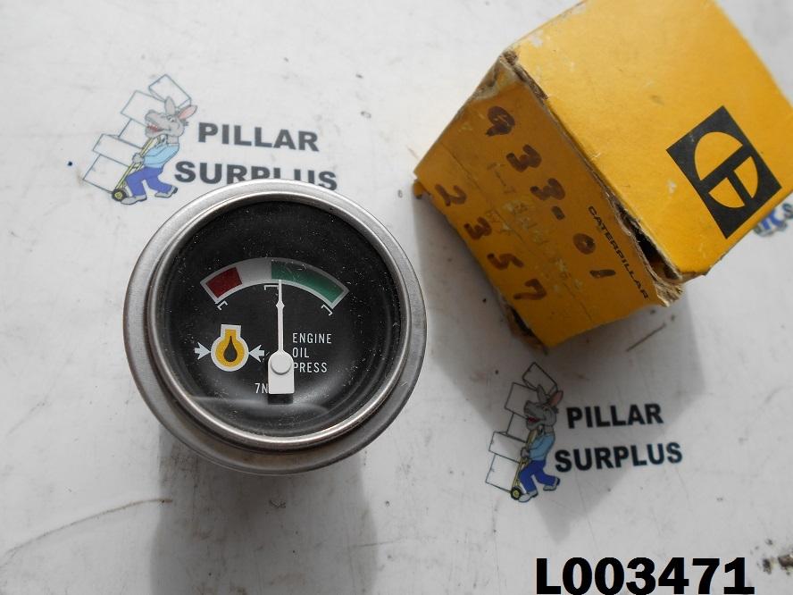 Caterpillar CAT Oil Pressure Gauge 7N1136
