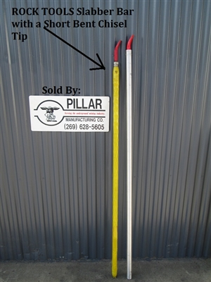 Rock Tools Fiberglass Slabber Bar 6' Length, Scaling Bar
