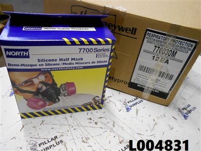 Honeywell (box of 12) 7700 Series Medium Half Mask Respirators 770030M