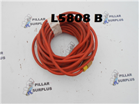 50' 14-3 STW extension cord with o-ringed receptacle