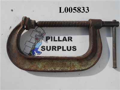 "Williams Co. 6"" Deep Throat Clamp"