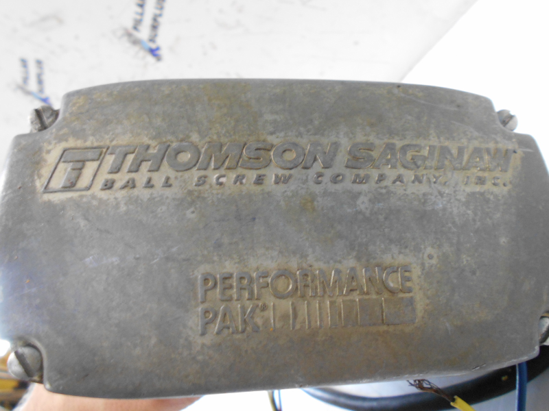THOMSON SAGINAW BALL SCREW INC  PERFORMANCE PAK LINEAR ACTUATOR K05649-0304  (UNTESTED)