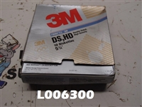 "3M Double Sided, High Density Diskettes 5-1/2"" (pack of 9 diskettes)"
