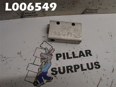 FLUID CONTROLS VALVE 1SD12-P3-6S