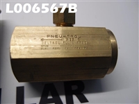 "DELTROL FLUID PRODUCTS 3/4"" BRASS CHECK VALVE C35B"