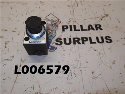 Vickers Flow Control Valve FCG-3-180-H-10