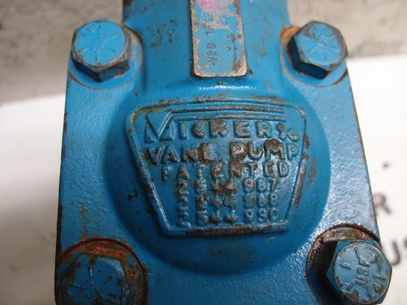 VICKERS VANE PUMP V20-1P6P-1A11