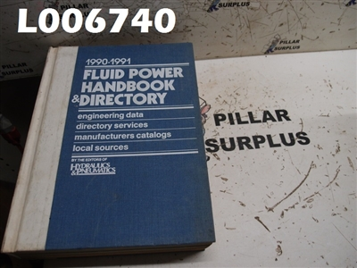 FLUID POWER HANDBOOK & DIRECTORY 1990-1991