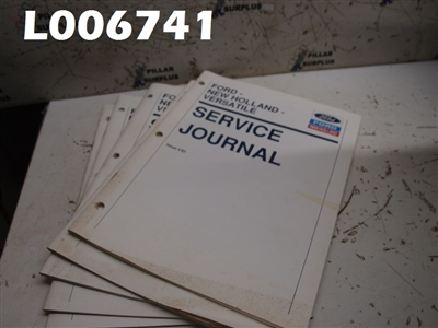LOT OF (5) FORD-NEW HOLLAND-VERSATILE SERVICE JOURNAL 1992