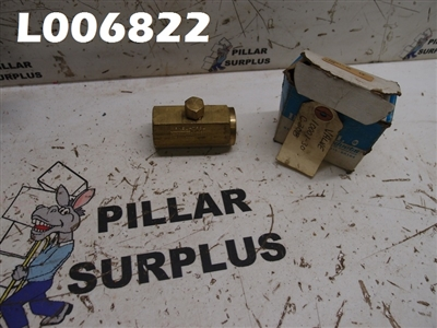 DELTROL FLUID PRODUCTS 3/4 BRASS CHECK VALVE C30B
