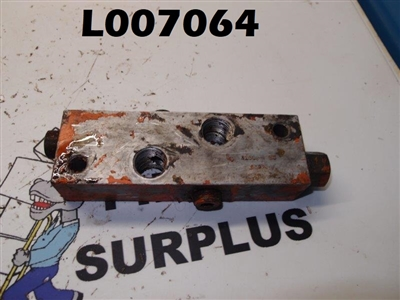Fluid Controls Manifold 31902-4 S5