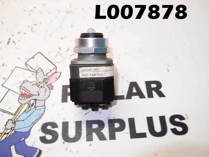 Allen Bradley Push Button 800T-FXNP16A7
