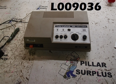 VINTAGE PHILLIPS CODE-A-PHONE ANSWERING MACHINE/REMOTE COMMAND 1400