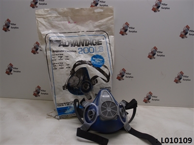 MSA Advantage 200 LS Respirator Facepiece 815444 (Medium)