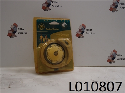 General Electric 7 Day Timer GE5111N
