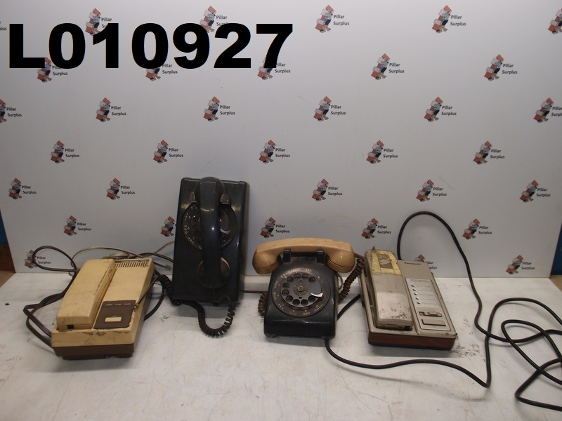 Outstanding Vintage Phone Lot Lot Of 4 Panasonic Rotary Northern Electric Itt Wiring Cloud Hisonuggs Outletorg
