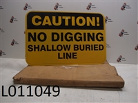 18 x 12 Caution Sign (pk of 12)